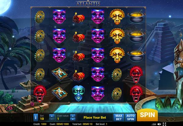 Atlantis 777 Slots Bay game