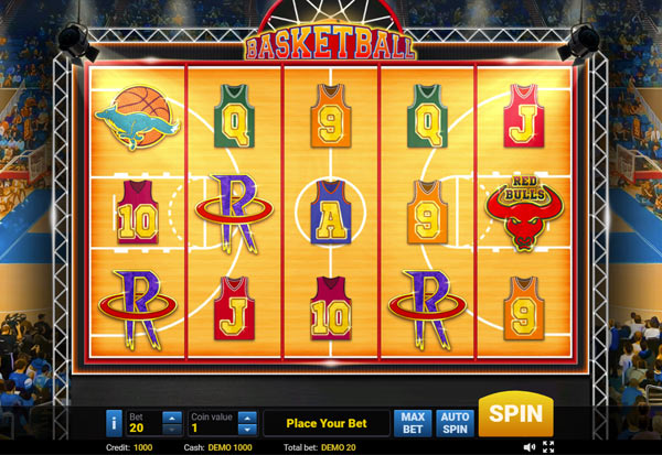 Basketball 777 Slots Bay game