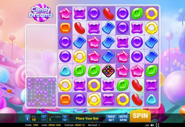 Candy Dreams 777 Slots Bay game