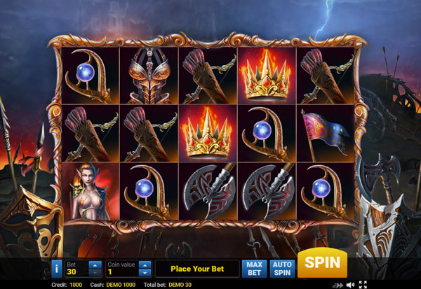 Elven Princesses 777 Slots Bay game