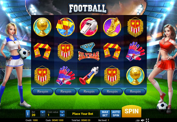 Football 777 Slots Bay game
