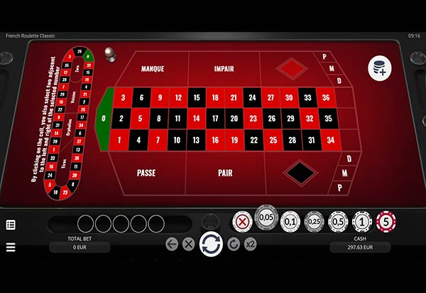 French Roulette Classic 777 Slots Bay game