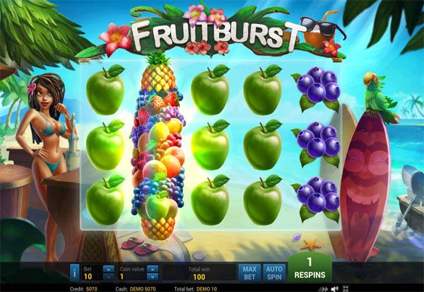 Fruit Burst 777 Slots Bay game