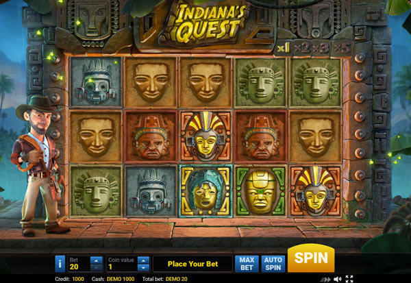 Indiana's Quest 777 Slots Bay game