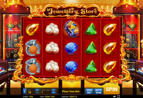 Jewellery Store 777 Slots Bay game