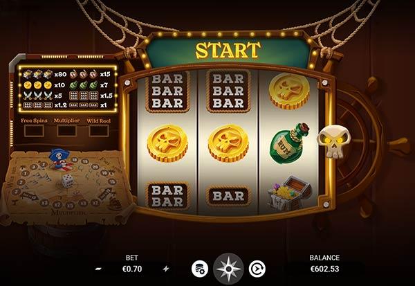Jolly Treasures 777 Slots Bay game