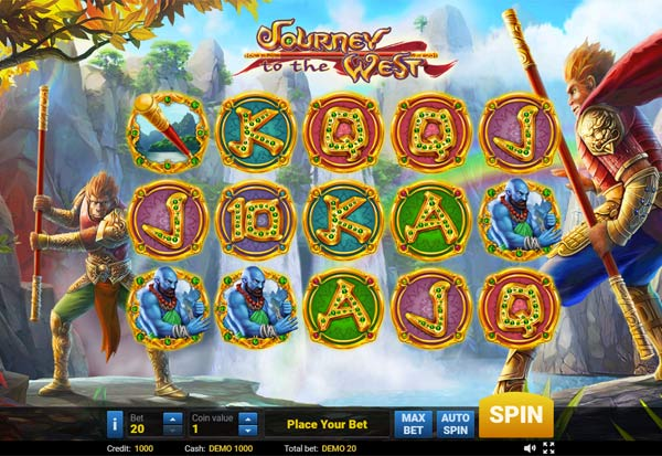 Journey To The West 777 Slots Bay game