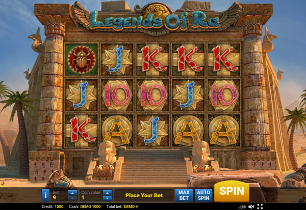 Legends of Ra 777 Slots Bay game