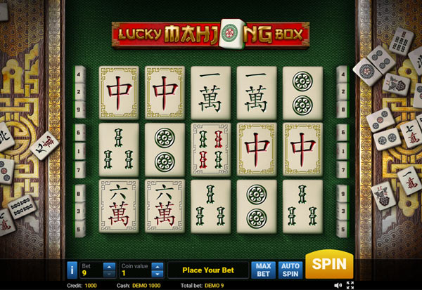 Lucky Mahjong Box 777 Slots Bay game