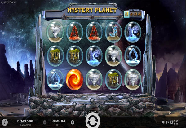 Mystery Planet 777 Slots Bay game