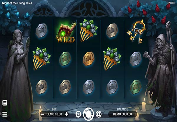 Night of the Living Tales 777 Slots Bay game