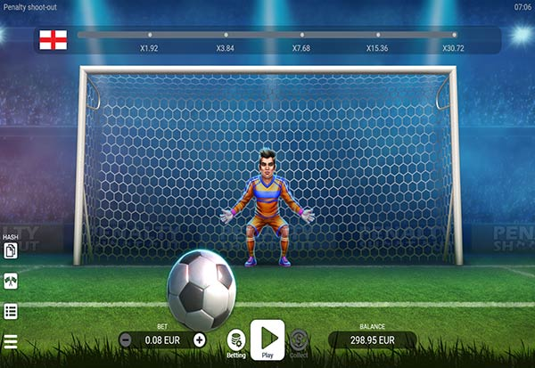 Penalty Shoot Out 777 Slots Bay game