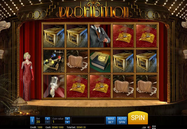 Prohibition 777 Slots Bay game