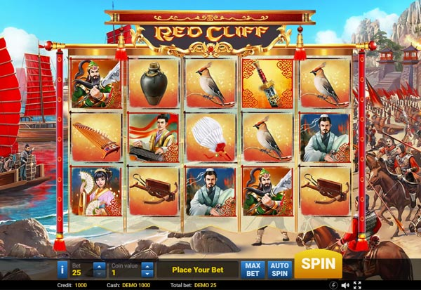 Red Cliff 777 Slots Bay game