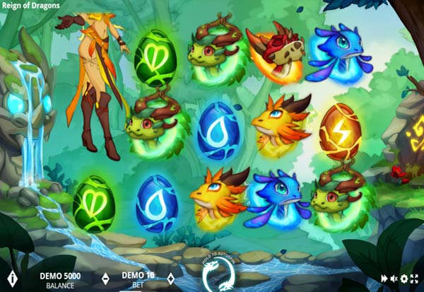 Reign of Dragons 777 Slots Bay game