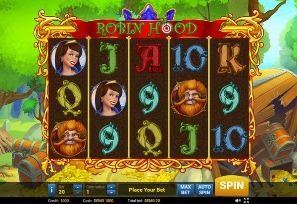 Robin Hood 777 Slots Bay game
