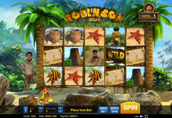 Robinson 777 Slots Bay game
