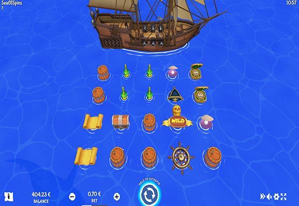Sea of Spins 777 Slots Bay game