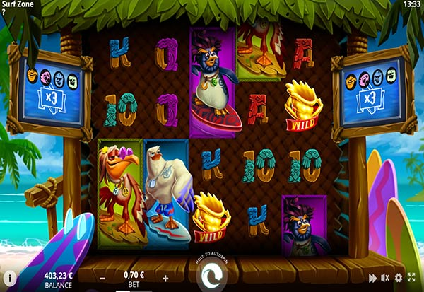 Surf Zone 777 Slots Bay game