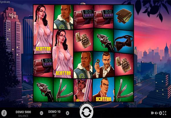 Syndicate 777 Slots Bay game