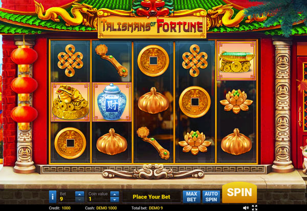 Talismans of Fortune 777 Slots Bay game
