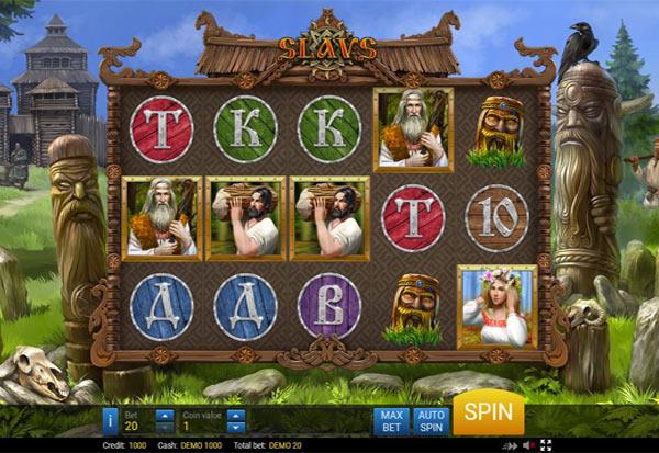 The Slavs 777 Slots Bay game