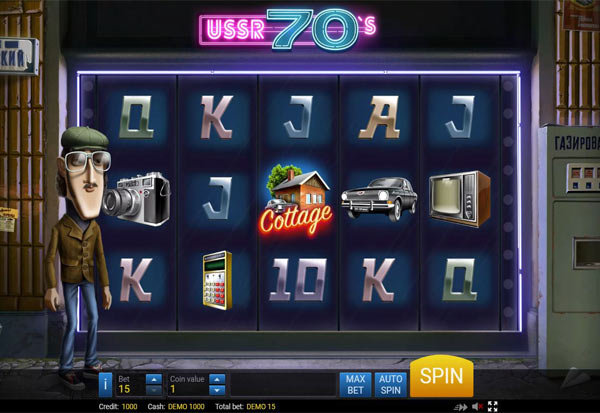 USSR Seventies 777 Slots Bay game