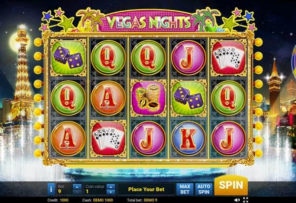 Vegas Nights 777 Slots Bay game