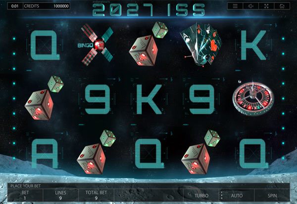 2027 ISS 777 Slots Bay game