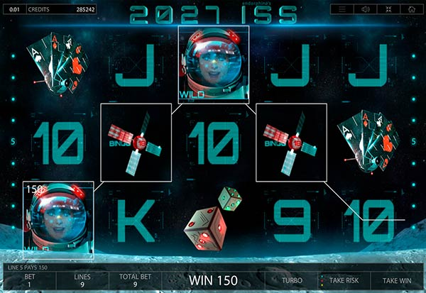 2027ISS 777 Slots Bay game