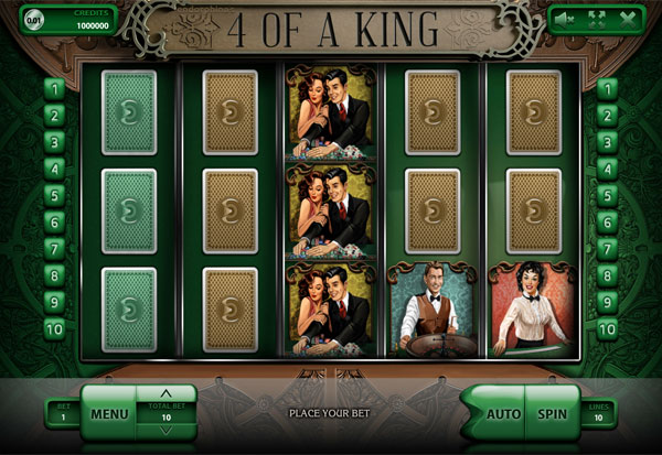 4 of a King 777 Slots Bay game