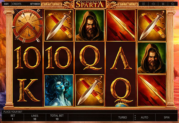 Almighty Sparta 777 Slots Bay game