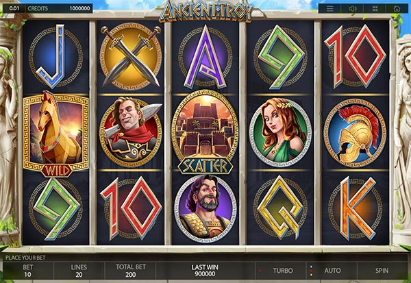 Ancient Troy 777 Slots Bay game