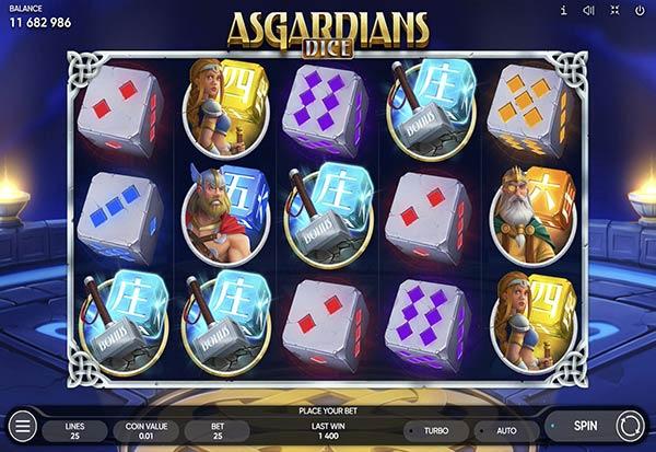 Asgardians Dice 777 Slots Bay game