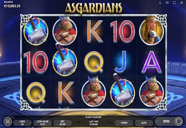 Asgardians 777 Slots Bay game