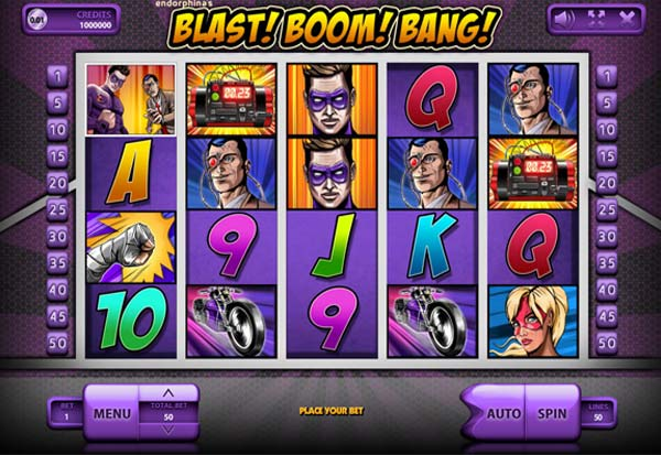 Blast Boom Bang 777 Slots Bay game