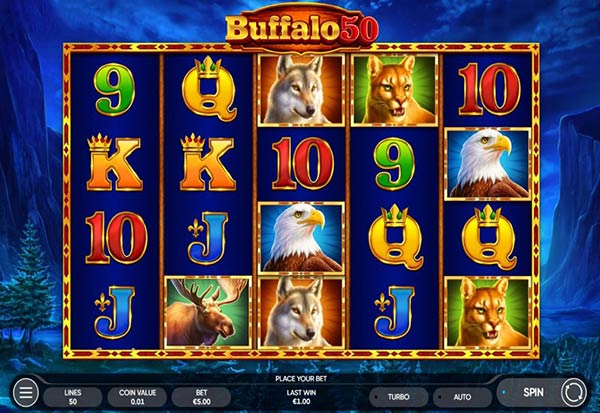 Buffalo 50 777 Slots Bay game