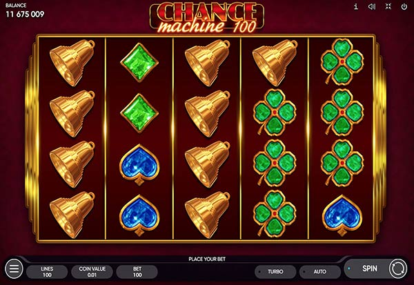 Chance Machine 100 777 Slots Bay game