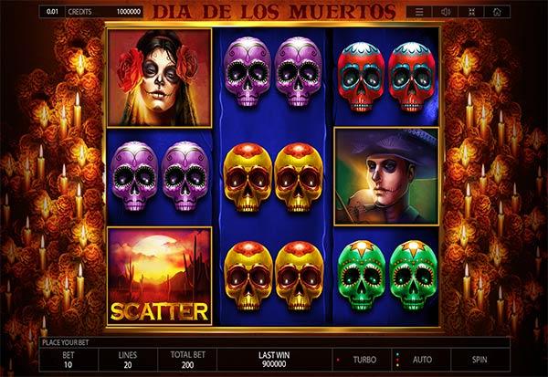 Dia De Los Muertos 777 Slots Bay game