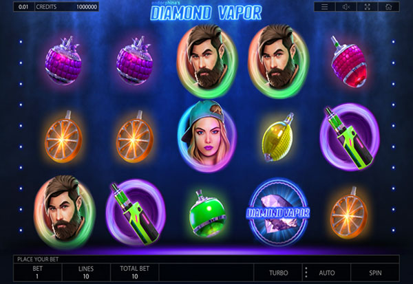 Diamond Vapor 777 Slots Bay game