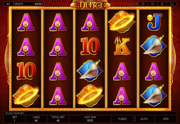 Durga 777 Slots Bay game