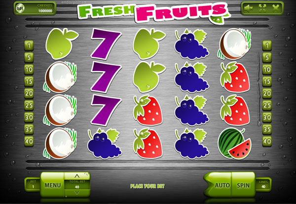 Fresh Fruits 777 Slots Bay game