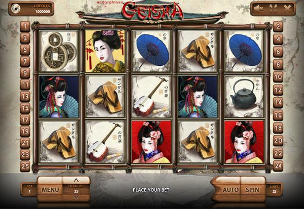 Geisha 777 Slots Bay game