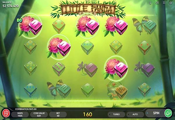 Little Panda Dice 777 Slots Bay game