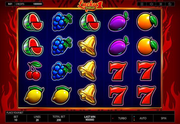 Lucky Streak 1 777 Slots Bay game