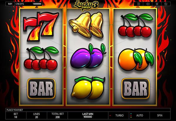 Lucky Streak 3 777 Slots Bay game