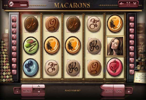 Macarons 777 Slots Bay game