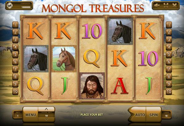 Mongol Treasures 777 Slots Bay game