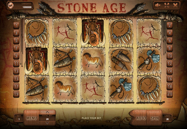 Stone Age 777 Slots Bay game