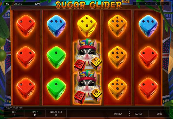 Sugar Glider Dice 777 Slots Bay game